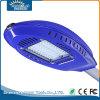 Luz solar pura del jardín de la lámpara de calle del blanco LED de IP65 30W