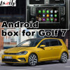 Автомобильная навигация GPS для Android видео интерфейс для VW Golf 7, Touran Passat, варианта (MIB2) обновления нажмите кнопку навигации, WiFi, Bt, Mirrorlink, Full HD 1080P, Карты Google