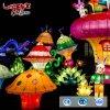 Bella lanterna del fumetto della decorazione LED di festival per il parco a tema