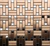 Mosaico de brillante metal directamente de fábrica de arte diseño