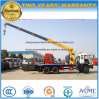 Dongfeng 4X2 monté sur camion grue dépanneuse chariot sur 8 tonnes