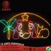 Licht van het Motief van de openlucht het H150cm Aangepaste LEIDENE Geboorte van Christus van Chirstmas Scène Geplaatste 2D met Boog voor Straat