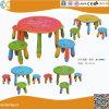La maternelle pour les enfants de la Table ronde en plastique