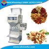 Halb automatisches Körnchen/Korn/Reis/Bohnen/Kaffee/Nuts/Einfüllstutzen, der füllende Verpackungsmaschine wiegt