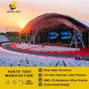 ألومنيوم مضلّعة خيمة لون موسيقى حفل موسيقيّ خيمة مع بيضاء [بفك] سقف تغطية ([هبغ])