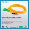 Câble de corde de pièce rapportée de Sc/APC-FC/PC