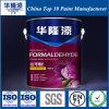 El formaldehído anti todo de Hualong efectúa la pintura interna Crack anti de la pared