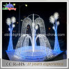 Blaues Brunnen-Licht des Weihnachtenled helles Motiv-3D für Park