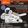 Remarque : Couverture de livre de rouleau chaud froid BOPP Film de plastification papier plastificateur Prix de la machine de contrecollage