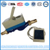 Medidores de água pagados antecipadamente do CI cartão de bronze com válvula Dn15-Dn25 do motor