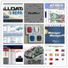 Software Alldata 10.53 Mitchell de la reparación auto a pedido + carro pesado + Elsawin 49 softwares en 1tb HDD