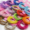 10 Pieces Card Packed Mixed Colors Elastic Hair Bands (JE1501)
