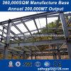 Flexible Diseño Modular de piso de tres edificios de acero