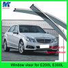 Respiradouro da porta da viseira da chuva do carro dos artigos da decoração do carro para o Benz E200L E300L