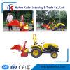 дробилка для древесных отходов для трактора с маркировкой CE утвержденных