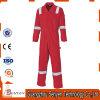 Vêtements de travail rouges d'aéroport de visibilité élevée avec la combinaison r3fléchissante de bande