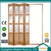 Interior de la sala / Cabina acústica plegable de madera / puerta de acordeón