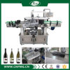 Round Bottle를 위한 두 배 Sides Adhesive Labeling Machine