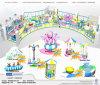 Juich Centrum ontwerp-10 van het Spel van de Motie van multi-Funtion van het Vermaak Zacht toe