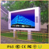 El panel publicitario video al aire libre de la cartelera del LED
