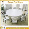 Einfacher sauberer Falz-Stuhl mit Metallbein-Verkauf in China