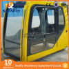Operatore dell'escavatore di Volvo Ec210b Ec240b che conduce la carrozza della baracca