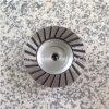 Roue de tasse de Turbo 4 fil brut silencieux bas en aluminium 5/8 de la granulation 40/50 de meules de diamant de noyau de pouce (100 millimètres)  - 11 ou M14