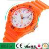 Relógio resistente da criança do silicone da água da senhora relógio da forma
