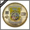 Выгравированное Number Challenge Coin в Gold Color (BYH-10548)