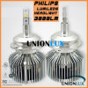 Auto LED Headlight met Philips 3000lm Philips 25W