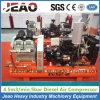 Compresseur d'air diesel de piston de l'extraction de l'or Equipment-2V4.0/5 du Zimbabwe avec le marteau de foret de roche de main