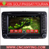 Reproductor de DVD del coche para el reproductor de DVD de Pure Android 4.4 Car con A9 CPU Capacitive Touch Screen GPS Bluetooth para VW Golf/Passat/Touran (AD-7113)