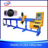 Máquina de estaca grande do plasma do CNC Oxy do pórtico com movimentação bilateral