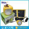 Lámpara que acampa solar con los bulbos del LED