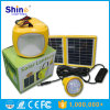 LED 전구를 가진 태양 야영 램프