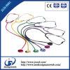 Singolo stetoscopio capo colorato