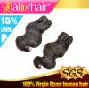 24  Blonde escuros Fashion Human Hair Clip em Extensions