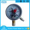 manometro elettrico del contatto del piatto del bicromato di potassio di vuoto di 100mm