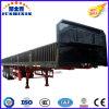 Parede lateral direta de preço de fábrica 3axles/12tyres de China/placa lateral/reboque de trator de serviço público caminhão da cerca vendido a Vietnam