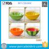 Вручную керамическими чашу для риса и фрукты Cute чаша