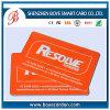 Cartão impresso do PVC do plástico aprovado do GV, cartão do presente, cartão