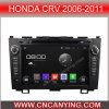 A9 CPU를 가진 Honda CRV 2006-2011년을%s Pure Android 4.4.4 Car DVD Player를 위한 차 DVD Player Capacitive Touch Screen GPS Bluetooth (AD-8034)