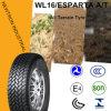 Durchbohrung Lt225/75r16 beständig aller Gelände-heller LKW-Reifen-Auto-Reifen