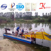 Máquina segador/basura automáticas hidráulicas de las malas hierbas del agua de la eficacia alta cerco la nave