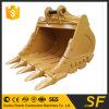 Excavatrice Cat336 Godet à pierres, BENNE STANDARD, 1,6 la GAC, pièces de rechange de l'excavateur