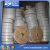 Mangueira lisa colocada PVC excelente da descarga da qualidade para a irrigação