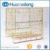 Recipiente Stackable dobrável europeu do engranzamento de fio da pré-forma do animal de estimação