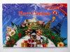Natte de trappe de Noël, 2015 natte d'étage de cadeau, natte de trappe de célébration