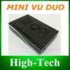 Mini receptor satélite gêmeo do afinador PVR de Vu+Duo DVB-S2 HD