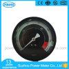 manómetro preto de alta pressão do preço de fábrica da placa de seletor de 100mm